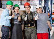 Notre cabinet de conseil industriel réunit une équipe d'experts de la vie des usines