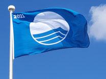 Blaue Flagge 2021
