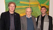 v. l. Dr. Buschmann, Hopp/ BUND, Börgmann/NABU -  Foto: I. Zwoch, BUND