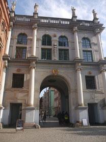 グダニスク 黄金の門
