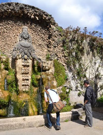 OmoGirando Villa d'Este - Fontana di Diana Efesia