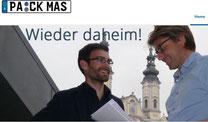 Heimkehrer Martin Biber (li.) mit Hans Jörg Wagmann (Quelle: www.pa-ck-mas.de)