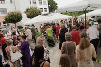 Spanisches Sommerfest 2012 im Tanzstudio La Fragua in Bonn/Color-Foto by Boris de Bonn