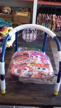 これが噂のJAMの椅子よ!12ポイントよ多めに発注したからあせらなくてもよいからね。