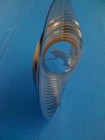 Rondelle Delfin 2 Oesen