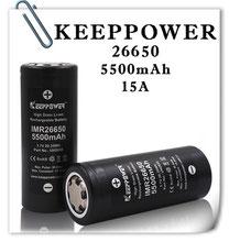 Keeppower IMR26650 5500mAh (15A)