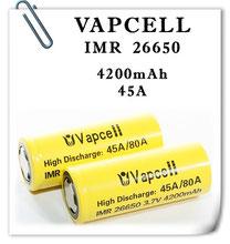 26650 VAPCELL IMR 4200mAh (45A)