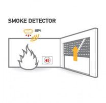 somfy; slimme rookmelder; optische rookmelder; brandveiligheid rolluik; solis zonwering; rolluiken en brand
