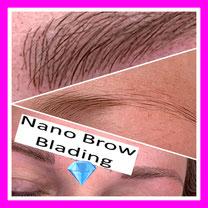 Diamant Blading Hamburg Bramfeld - Nano Blading - Studio Pimp my Face - Stefanie Lopez - Microblading - Permanent Make Up - Augenbrauen - Einzelschulungen