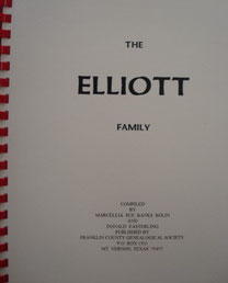 Cover of The Elliott Family