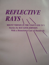 Cover of Reflective Rays: Mount Vernon in the 1940's and 1950's