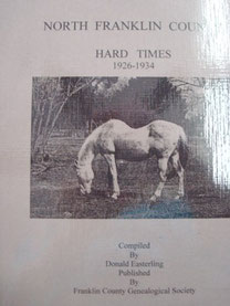 Cover of North Franklin County, Hard Times (1926-1934)