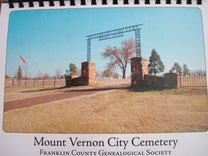 Cover of Mount Vernon City Cemetery (Second Edition)