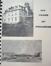 Cover of 100 Years of Progress: A History of the Franklin County Schools