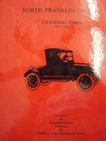 Cover of North Franklin County, Changing Times (1919-1925)