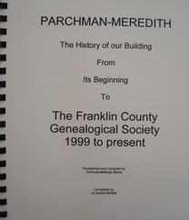 Cover of Parchman-Meredith, The History of Our Building
