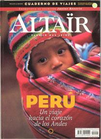 Portada del primer número de la revista Altaïr de la segunda etapa.
