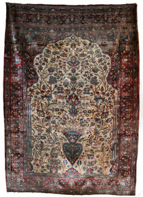 Kashan  1,85 x 1,30 m