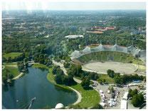 Olympiapark Kinderführung Blick von Oben Olympiaturm