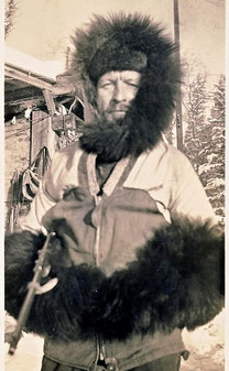 Georg Naumann - Trapper am Athabasca River