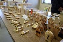 手づくりの木工製品