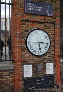 Automatische Uhr von 1852