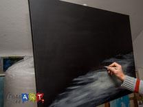 Skizze für Acrylmalerei