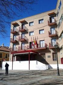 Sede de la Junta Municipal de Vicálvaro (Imagen: todoVicálvaro.es)