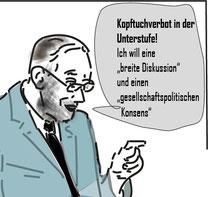 Faßmann Pressestunde Bild:spa