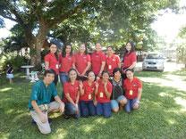 開校初年度の経営者と教師陣