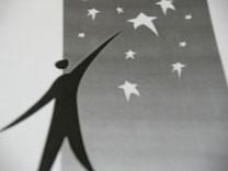 Mut zum Griff zu den Sternen