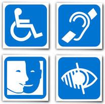 Bilf für Behinderungen