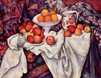 """Paul Cézanne, """"Pommes et oranges"""""""