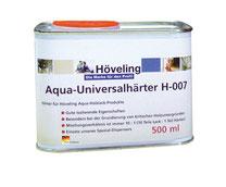 Höveling Aqua-Universalhärter H-007 für Bergotec Aqua-Treppen & Parkett-Lack - für besonders hohe Abriebfestigkeit