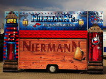 Verkaufswagen, Imbiss, Messen, Ausstellungen, Marktwagen, Kirmes Wagen, Anhänger