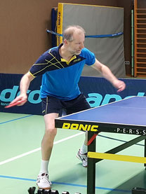 Vereinsmeister Wolfgang Ehmann in Aktion!