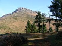 Ibaneta depuis Zugarramurdi