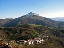 Le Col d'IBARDIN depuis SARE
