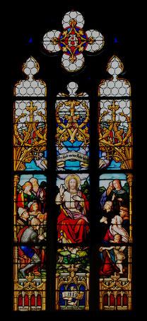 Chorfenster Evangelische Kirche Lustnau