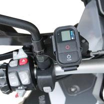 Support caméras sportives BMW F800GS