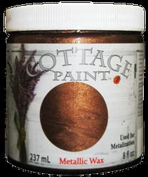 Metallic Wax, Cottage Paint