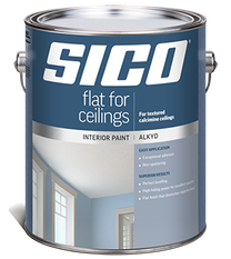 SICO FLAT FOR CEILING ALKYD PAINT