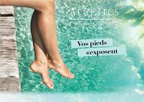 ALGETICS THALASSO :  Un programme bien-être  aussi pour vos pieds !