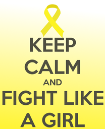 Mantén la calma y lucha como una chica.