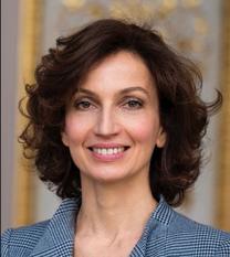 UNESCO Director General Audrey Azoulay