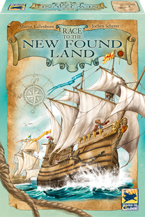 Race to the New Found Land - Cover
