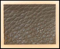 cuir de veau noir préparé pour poignée 446450