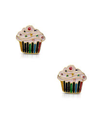 earrings, jewelry, kids, child, gifts, rehoboth, baby, boutique, store, shop, lewes, leverback, stud, post, lever back, training, cupake, baking, sprinkles