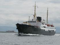 Altes Hurtigruten Schiff