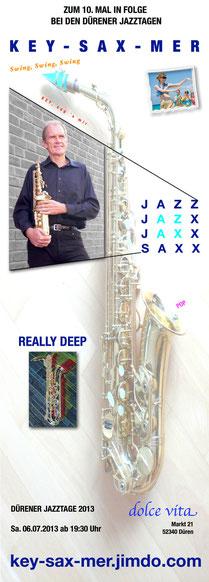 Saxophonist - Dürener Jazztage, Düren